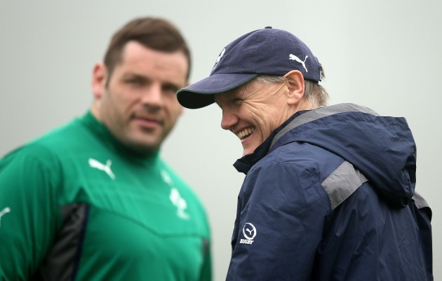 Mike Ross and Joe Schmidt