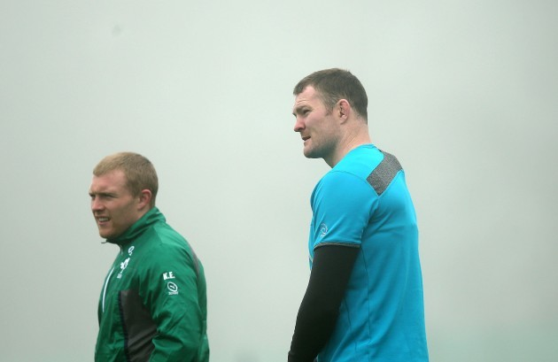 Keith Earls and Donnacha Ryan