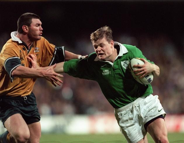 Brian O'Driscoll and Daniel Herbert 19/6/1999.