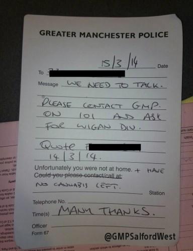 policenote