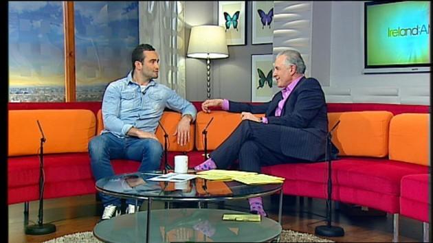 Ireland AM on TV3 Dave Kearneyand Mark Cagney