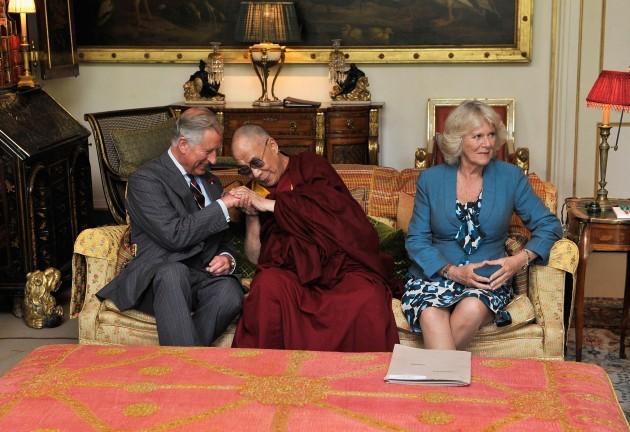 Dalai Lama visits UK