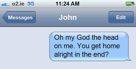 10 text messages in your inbox and what they really mean