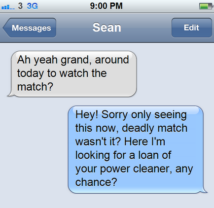 10 text messages in your inbox, and what they REALLY mean