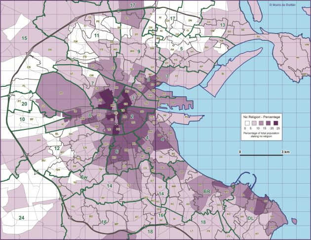 5 maps of Dublin that will give you a new perspective · The Daily Edge