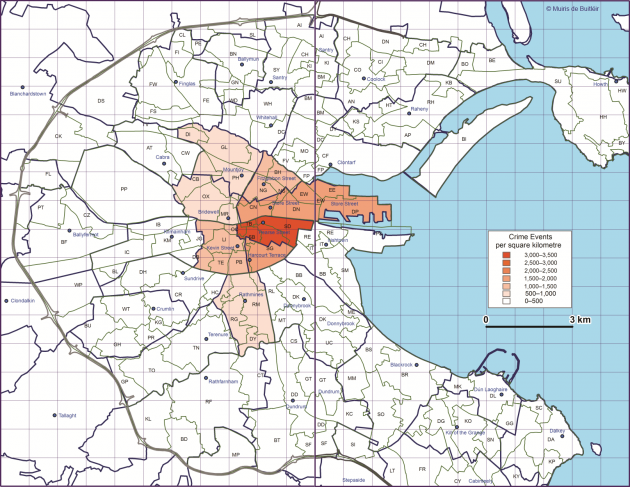 Maps Of Dublin Suburbs.5 Maps Of Dublin That Will Give You A New Perspective The Daily Edge