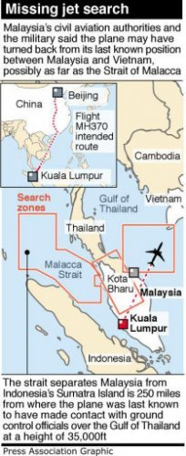 Timeline: The search for missing MH370 · TheJournal ie