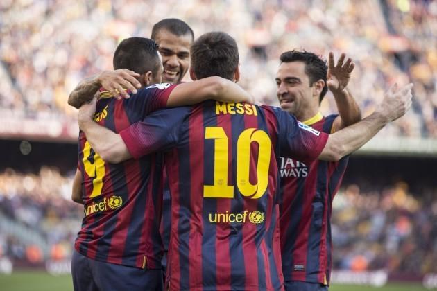 FC Barcelona sweeps aside Osasuna 7-0