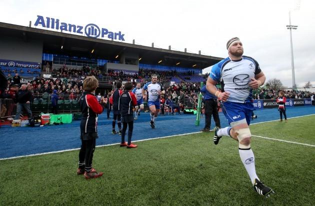 Brett Wilkinson takes to the field