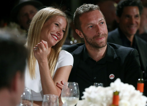 People Gwyneth Paltrow Chris Martin
