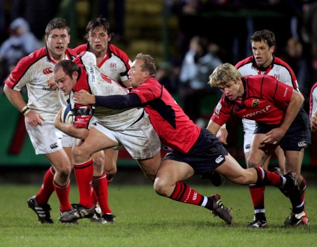 Rory Best and Anton Pitout 3/12/2005