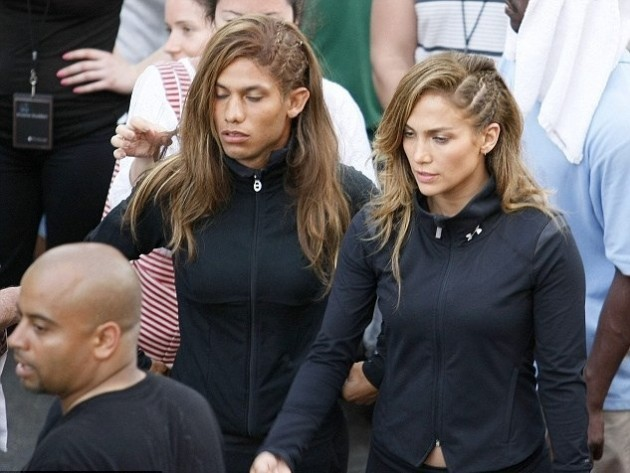 Jennifer Lopez's stunt double - Imgur