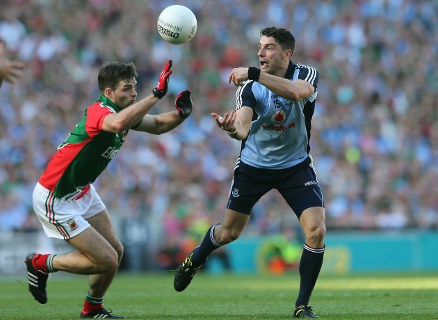 Bernard Brogan and Ger Cafferkey