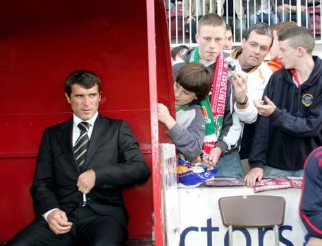 Manager Roy Keane 1/8/2007