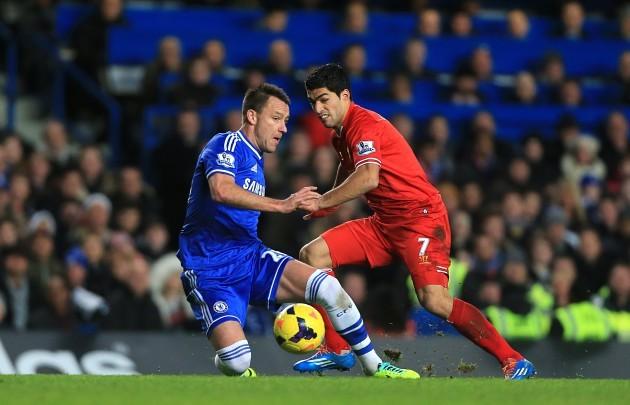 Soccer - Barclays Premier League - Chelsea v Liverpool - Stamford Bridge