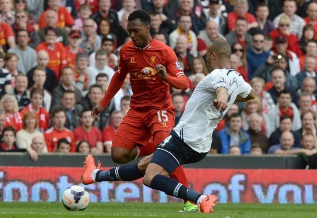 Soccer - Barclays Premier League - Liverpool v Tottenham Hotspur - Anfield