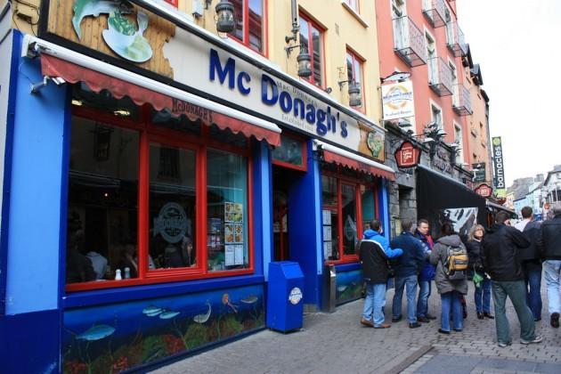 McDonagh's at Galway