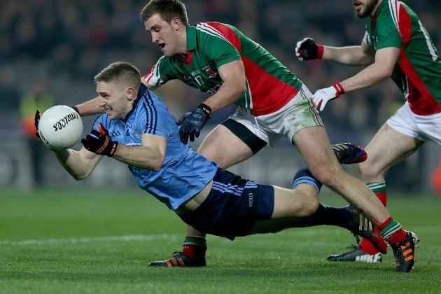 Eoghan O'Gara with Shane McHale