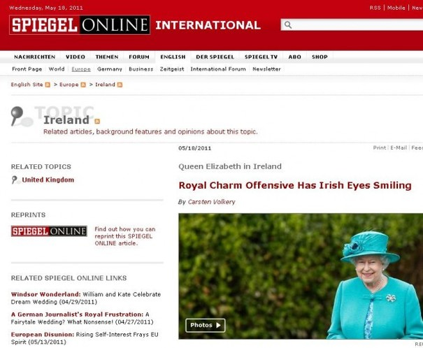 What the international media is saying about the Queen's visit
