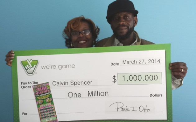 Meet the couple who won the lottery three times    in one month