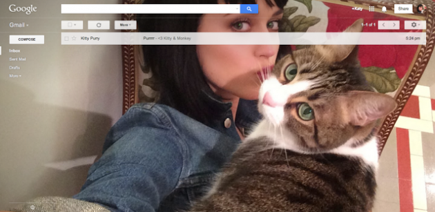 Gmail introduces shareable selfie backgrounds · The Daily Edge