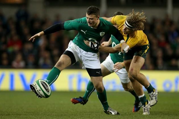 Rugby Union - Guinness Series 2013 - Ireland v Australia - Aviva Stadium