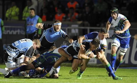 Rugby Union - RaboDirect PRO12 - Glasgow Warriors v Connacht - Scotstoun Stadium