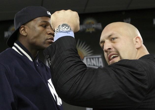 Wrestling Mayweather Boxing