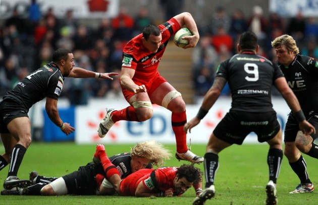 Rugby Union - Heineken Cup - Pool Two - Ospreys v Toulouse - Liberty Stadium