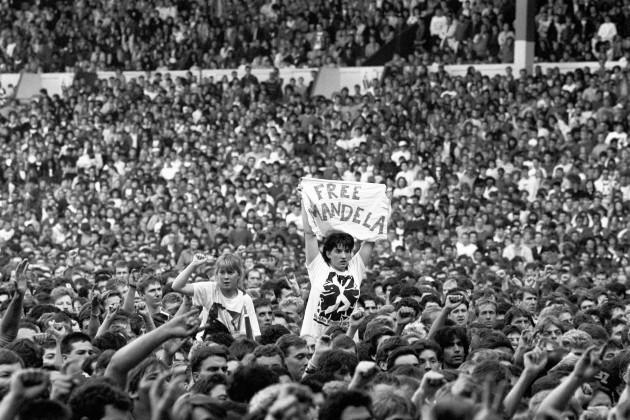 Music - Human Rights Now! - Amnesty International benefit concert - Wembley Stadium