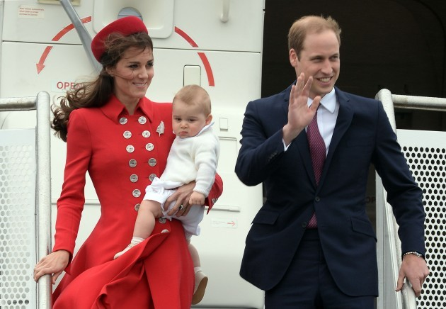 Royal visit to Australia and NZ - Day 1