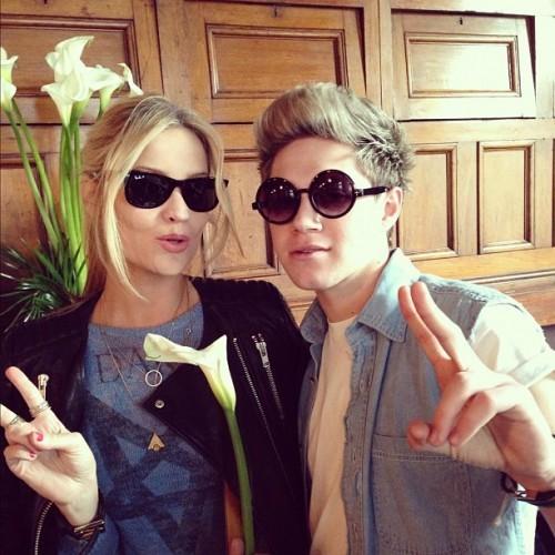 Last week I wore her underwear on my head, this week we swap sunglasses ! #hashtag