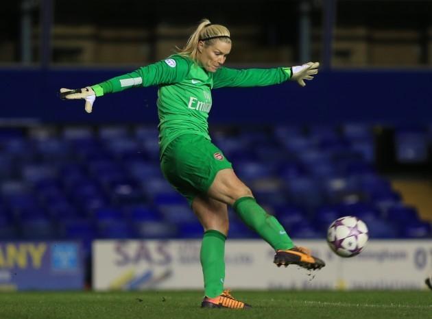 Soccer - UEFA Women's Champions League - Quarter Final - Birmingham City v Arsenal - St Andrew's