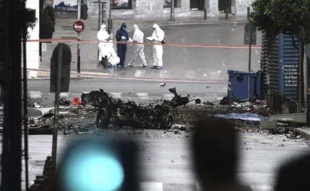 Greece Bomb