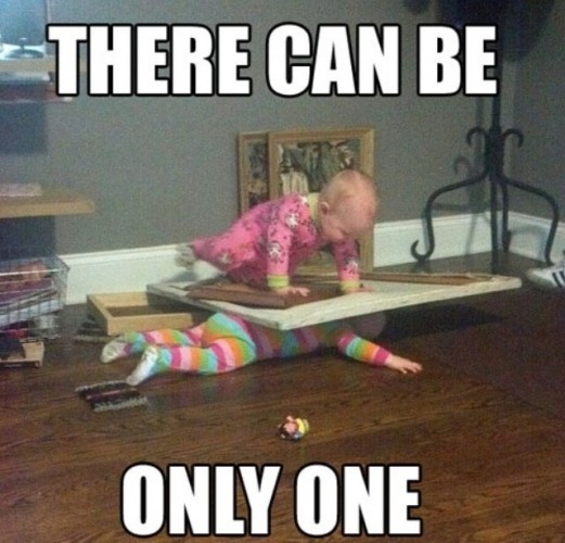 Isn't sibling rivalry adorable? - Imgur