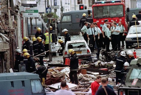 Omagh bombing arrest