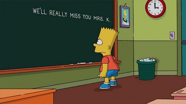 I only just found out. All my feels. RIP Marcia Wallace aka Edna Krabappel. - Imgur