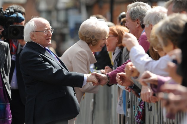 President Higgins state visit to Britain - Day Five