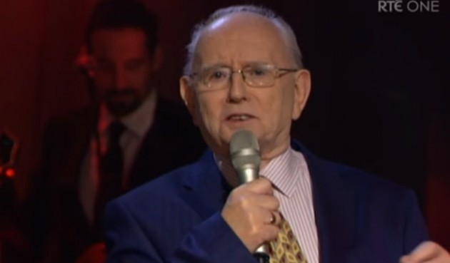Jimmy Magee singing