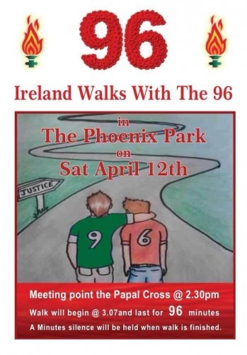 Ireland walks with the 96