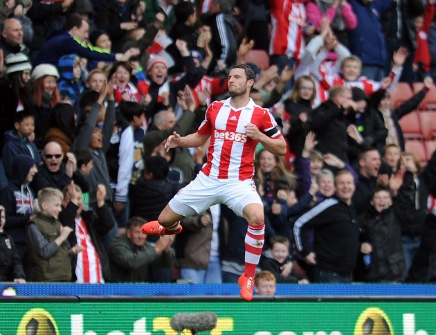 Soccer - Barclays Premier League - Stoke City v Newcastle United - Britannia Stadium