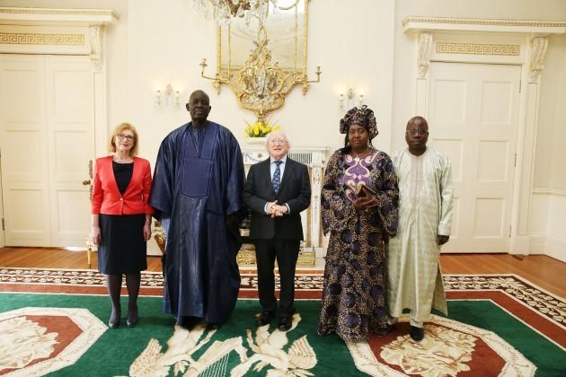 H.E. Mr. Abdou Sourang, Ambassador of the Republic of Senegal MX2