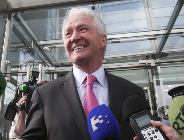 Anglo Case. Pictured Former Chairman o