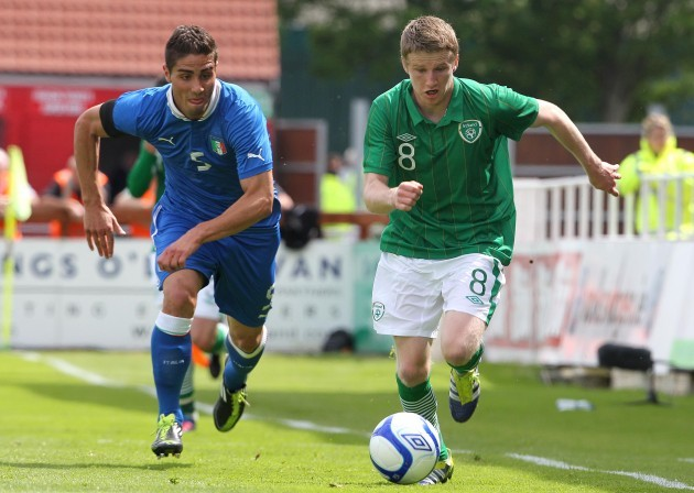 Eunan O'Kane and Marco Capuano