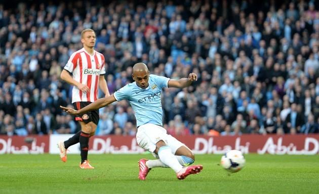 Soccer - Barclays Premier League - Manchester City v Sunderland - Etihad Stadium