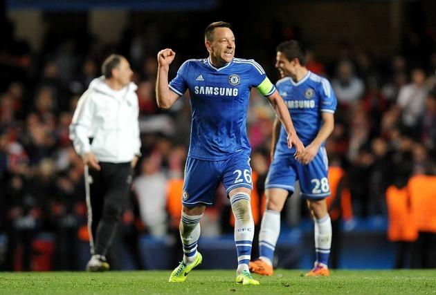 Soccer - UEFA Champions League - Quarter Final - Second Leg - Chelsea v Paris Saint-Germain - Stamford Bridge