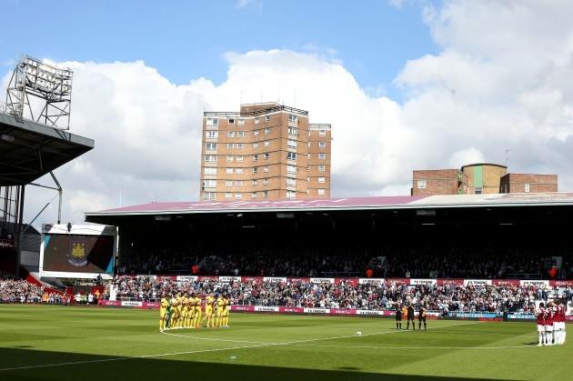 Soccer - Barclays Premier League - West Ham United v Crystal Palace - Upton Park