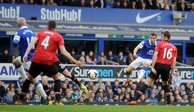 Soccer - Barclays Premier League - Everton v Manchester United - Goodison Park