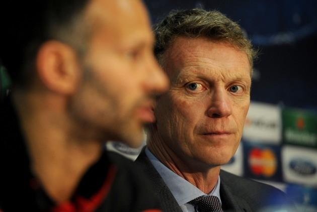 Soccer - UEFA Champions League - Quarter Final - First Leg - Manchester United v Bayern Munich - Manchester United Press Conference - Old Trafford