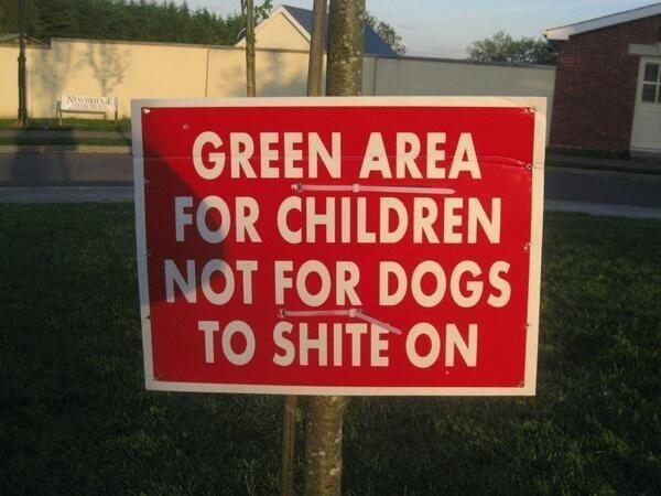 A sign in a Park in Bray, Co Wicklow, Ireland - Imgur